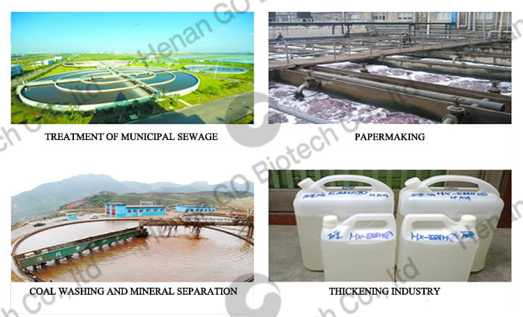 applications of water treatment chemicals